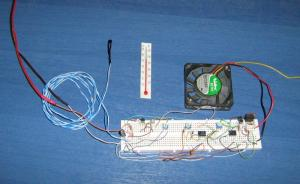 two speed temperature fan pwm controller