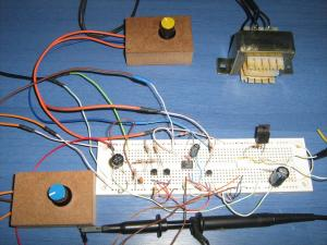 Voltage Controlled AC Light Dimmer