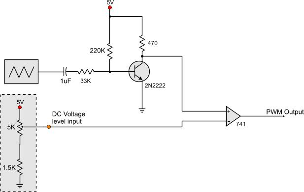 following is the schematic of the voltage controlled pwm