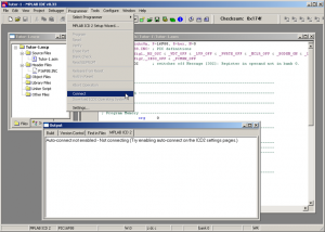 Compile a program and transfer to the PIC - Microchip PIC