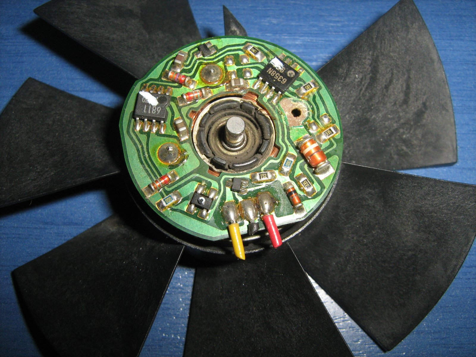 Inverter control of fridge and freezer page 2 diynot for How does a brushless motor work