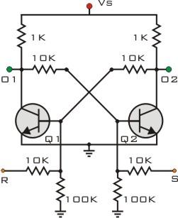 Transistor self-latching circuit | Electronics Forum ...